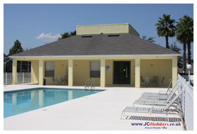Manors at Westridge Clubhouse Pool, Davenport, Florida