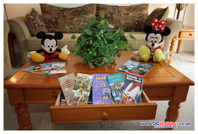 Disney leaflets and coupons