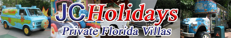 orlando Florida villa car hire and car rental